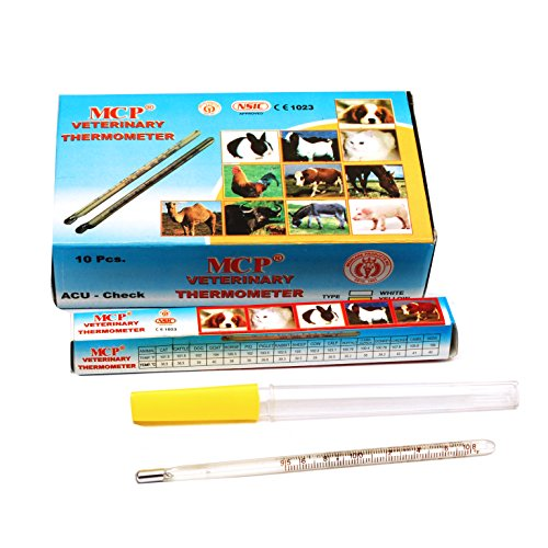 MCP Veterinary Thermometer 10pc