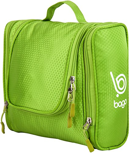Bago Toiletry Bag For Men Women Hanging Toiletries Kit For Makeup Cosmetic Shaving Travel