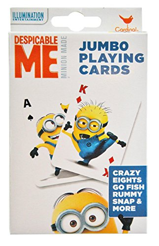 Despicable Me Jumbo Playing Cards - 1