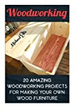 img - for Woodworking: 20 Amazing Woodworking Projects For Making Your Own Wood Furniture: (Household Hacks, DIY Projects, DIY Crafts,Wood Pallet Projects, ... things, recycled crafts, recycle reuse renew) book / textbook / text book
