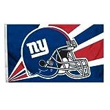 New York Giants 3 feetx5 feet Helmet Design Flag