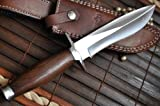 Sale Is Now On- Handmade Hunting Knife - 440c Steel - Beautiful Camping Knife
