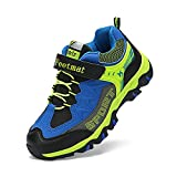 ZOCAVIA Boys & Girls' Running Shoes Athletic Waterproof Breathable Hiking Sneakers for Kids