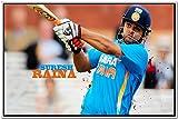Shopolica Suresh Raina Indian Cricket Player Poster (Suresh-Raina-3171)