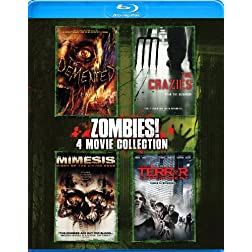 Zombies 4-Pack [Blu-ray]