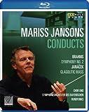 Mariss Jansons dirigiert Brahms (Sinf. 2) und Janacek (Glagolitische Messe) [Blu-ray]