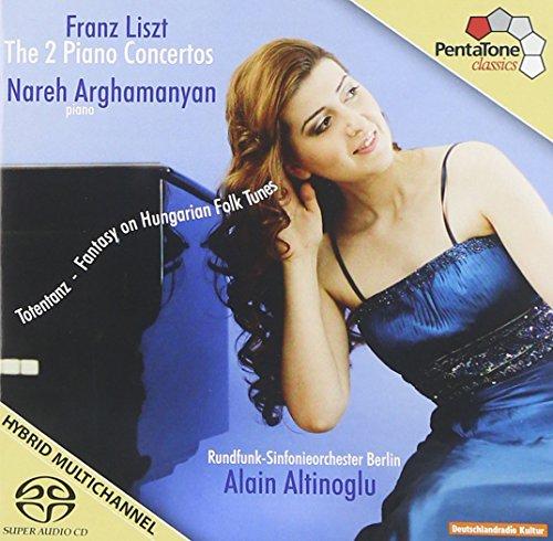 SACD : Nareh Arghamanyan - 2 Piano Concertos (SACD)