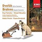 Dvor�k: Cellokonzert - Brahms: Doppelkonzert