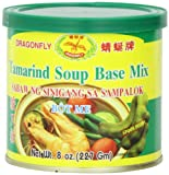 Dragonfly Tamarind Soup Base Mix, 8-Ounce Can (Pack of 3)