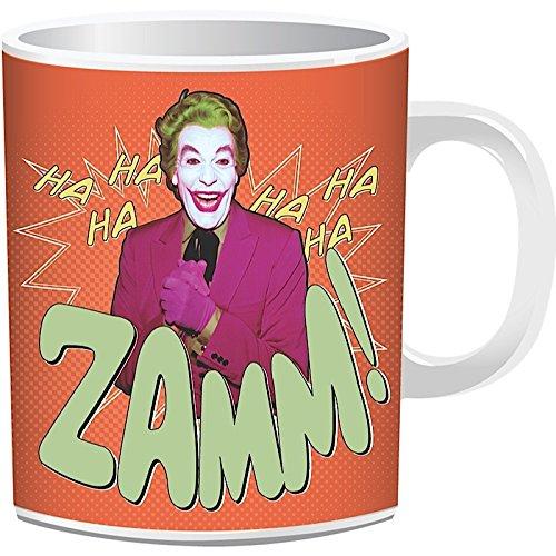Boxed Tazza-Batman (1966, joker)