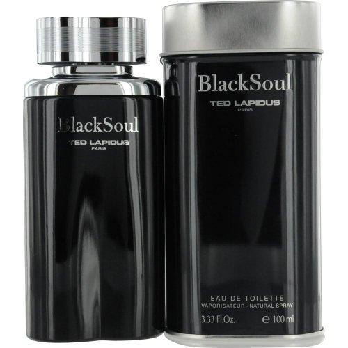 Profumo Uomo BLACK SOUL di Ted Lapidus Eau De Toilette 100ml nove Blister.