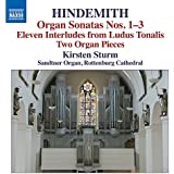 Hindemith: Two Pieces For Organ [Kirsten Sturm] [Naxos: 8.573194]