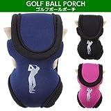 UNI-VERSE ゴルフボールポーチ ボールとティーをスマートに持ち運び 軽量素材 全3色 ランキングお取り寄せ