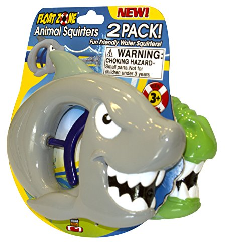 Floatzone 2-Pack Animal Squiters Water Gun Toy (Color and Styles Vary) - 1