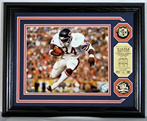 Walter Payton 24KT Gold Coin Photomint