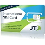 Telestial OneRate International SIM card with $5.00 Credit for 190 countries