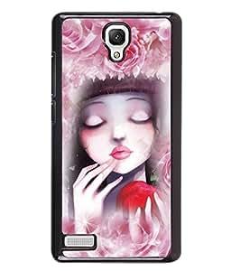 PrintVisa Metal Printed Girly Designer Back Case Cover for Xiaomi Redmi Note 4G -D5096