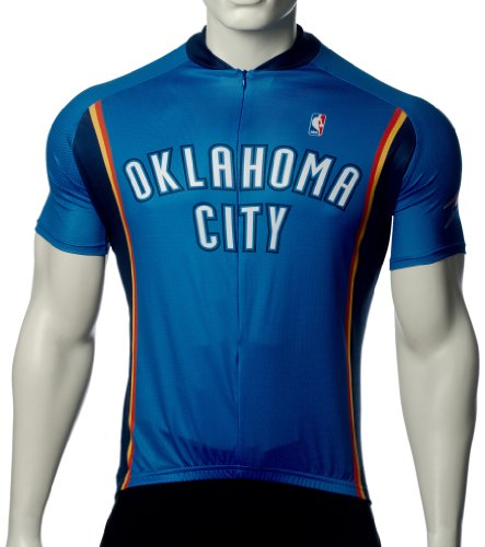 NBA Oklahoma City Thunder Men'S Cycling Jersey, Blue, Large VOmax Jerseys autotags B004AM6LOS