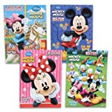 Disneys Mickey Mouse & Minnie Mouse Plus Friends Activity And Coloring Book (Set Of 4)