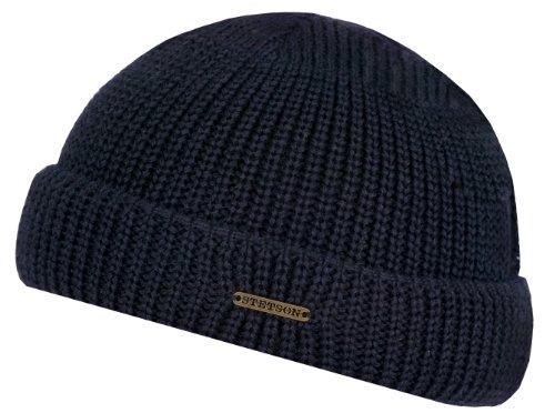 nashville-strick-dockercap-by-stetson-one-size-blau