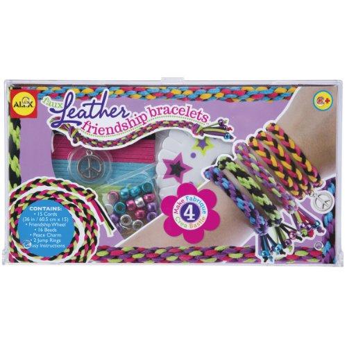 ALEX Toys Do-it-Yourself Wear Faux Leather Friendship Bracelets Kit
