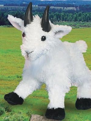 """Plush Maggie Mountain Goat 8"""" by Douglas Cuddle Toys"""