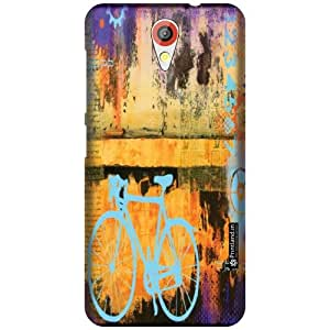 Printland Designer Back Cover for HTC Desire 620G - Bicycle Case Cover