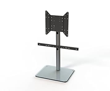 Just-Racks TV-Möbel, Glas, Aluminium, 50 x 61 x 69.8 cm