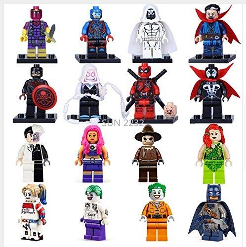 16-pices-Super-Heros-Avengers-Suicide-Squad-Harley-Quinn-Joker-Deadpool-Batman-Daiblo-Suicide-squad-figurine-figurines-suicide-squad-harley-quinn-suicide-squad-joker-super-hero-super-heroes-minifigure