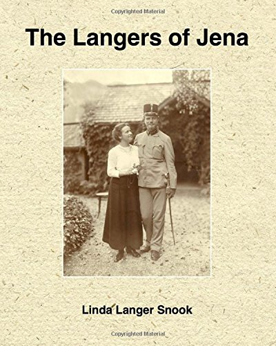 The Langers of Jena: Volume 1
