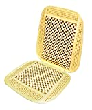 Wagan IN9912 Bead and Rattan Cool Seat Cover