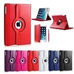 iPad 5 Air Leather Flip Case 360 Rota...