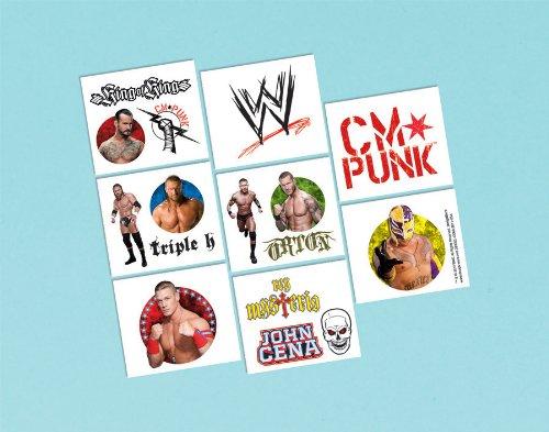 Imagen de WWE Wrestling Tatuajes 16CT [Juguete] [Juguetes]
