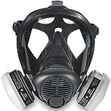 Sperian 766184 Survivair Opti-Fit Silicone Full Facepiece Respirator, Medium