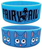 Fairy Tail: Happy and Logo Wristband