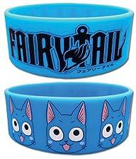 Fairy Tail: Happy and Logo Wristband