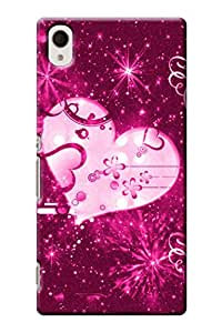 IndiaRangDe Designer Mobile Back Cover for Sony Xperia M4