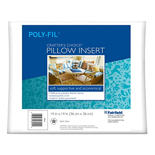 Buy Fairfield Crafter's Choice Pillow Form, 14 by 14-Inch