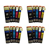 4x Complete Sets of 5 Compatible T2636 (20x CARTRIDGES!) Polar Bear (26XL Series) Multipack (INCLUDES 2x T2621 Black, 2x T2632 Cyan, 2x T2633 Magenta, 2x T2634 Yellow, 2x T2631 Photo Black) High Capacity XL Ink Cartridges For EPSON Expression Premium XP6