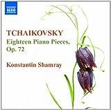 チャイコフスキー:18のピアノのための小品 Op.72