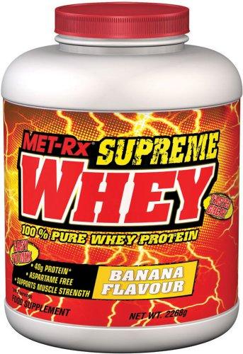 MET-Rx Supreme Whey 2268 g Banana Pure Protein Shake Powder