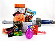 ' Your the Bomb ' Minecraft Themed Valentine Candy and Toy Stuffed Gift Basket