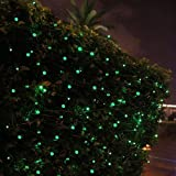 InnooTech Green String Lights Solar Powered 100 LED Fairy Lights for Outdoor, Garden, Patio, Christmas, Party