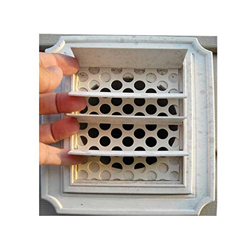 2/pkg-Dryer Vent Bird Guards - Bird Stop inserts - Bird Guard - Dryer Vent Grill - Pest Guard - Stop Birds From Nesting in Dryer Vent Pipes and Bathroom Vent Pipes (3 Inch Outside Vent compare prices)