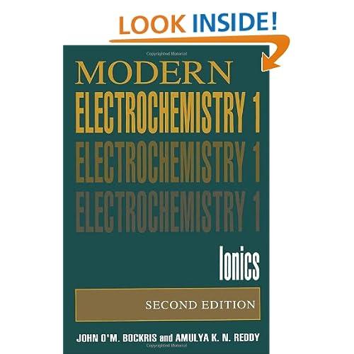 Modern Electrochemistry: Ionics Bockris J., Ry A.