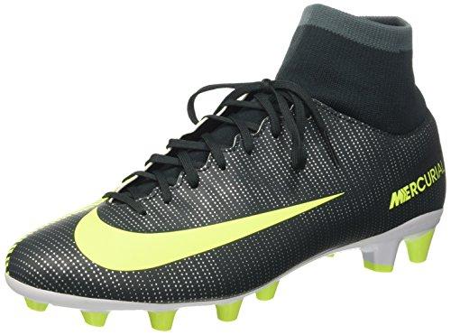 Nike Mercurial Vctry 6 Cr7 Df Agpro Scarpe da calcio allenamento, Uomo, Verde (Seaweed/Volt Hasta White), 42