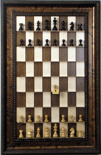 Vertical Wall Mount Chess Board