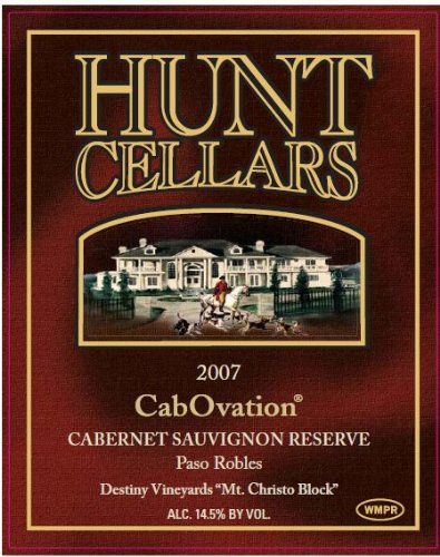 2007 Hunt Cellars 'Cabovation' Cabernet Sauvignon Reserve, Paso Robles 750 Ml