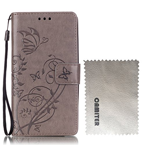 camiter-grey-embossing-butterfly-design-folio-leather-stand-protective-skin-cover-case-with-magnetic