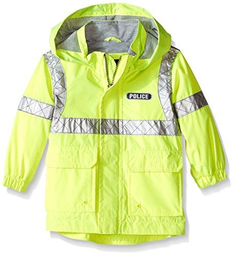 London Fog Baby Police Rain Slicker, Yellow, 24 Months